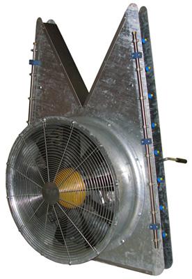 Вентилятораня приставка типа «колонна»_1