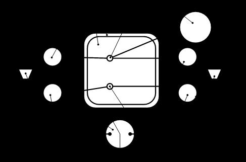 Схема пенного маркера