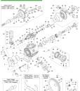 Схема насоса Comet APS 121